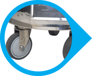 Lockable Castor Wheels