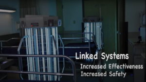 Linked smart systems for Whole Room Disinfection