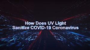 UVC Contactless sanitization from Coronavirus - Emery University Atlanta and University College London